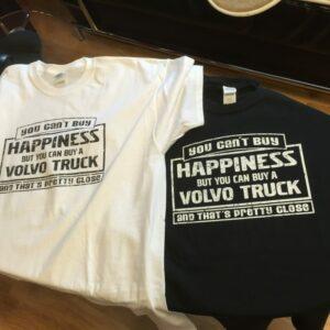 T-shirtar till ett event.