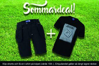 Sommarens deal! Köp short och få en t-shirt!