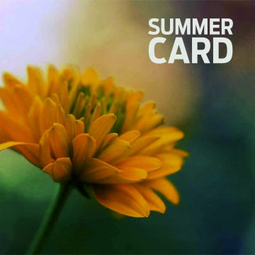 Summer Card.